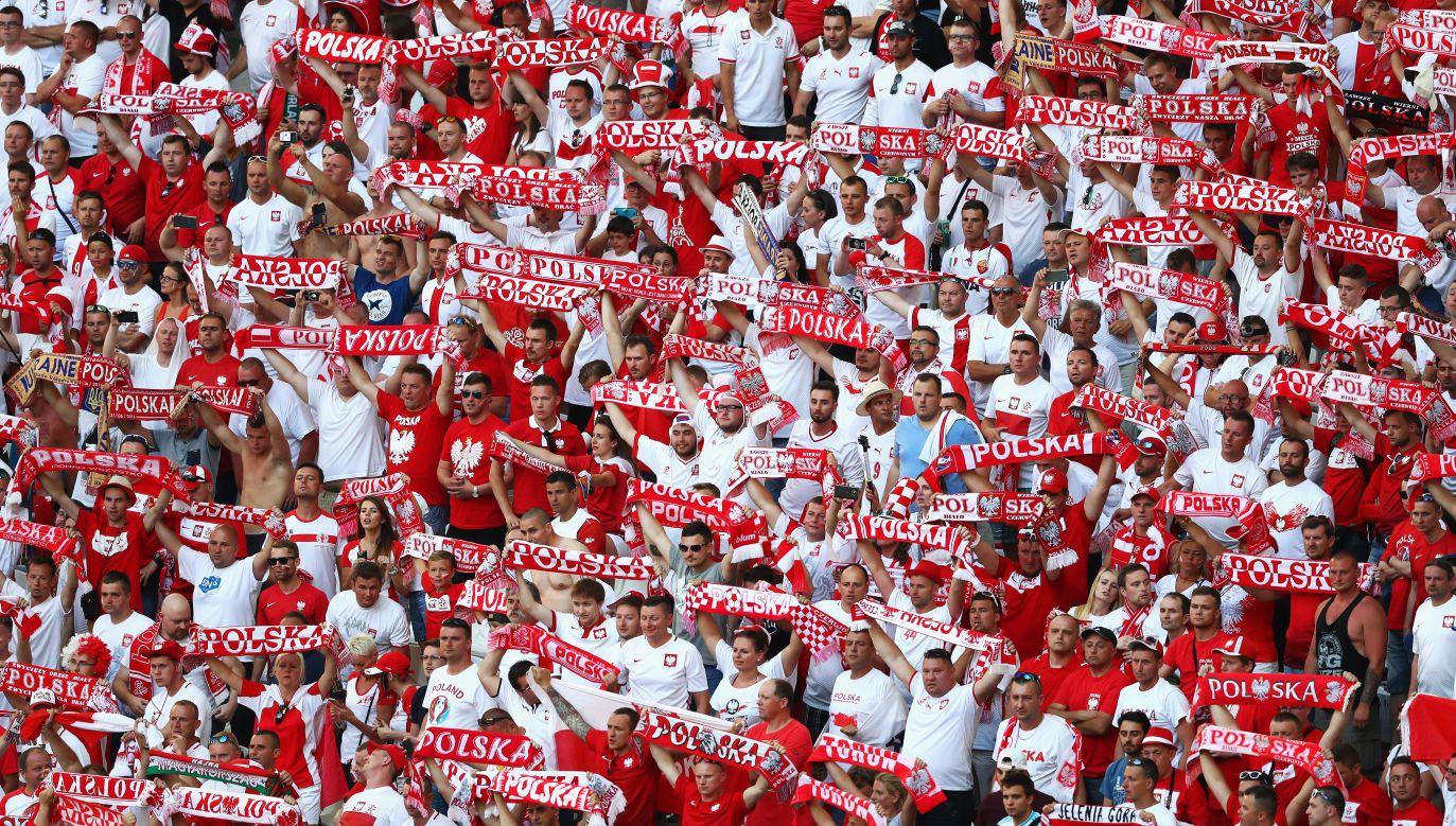 Polish football fans. Photo: Lars Baron/Getty Images