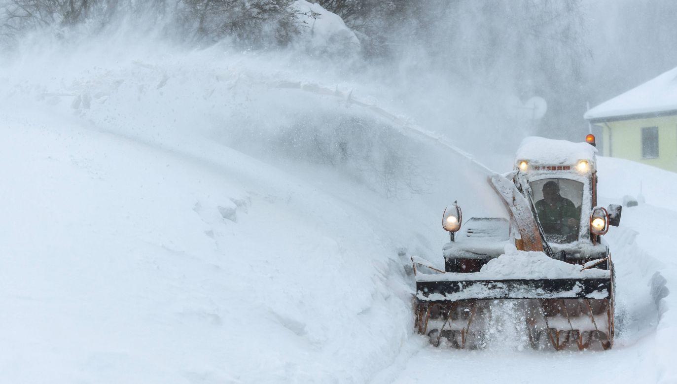W dwóch gminach w Beskidzie Żywieckim ma zostać wprowadzony stan klęski żywiołowej (fot.arch. PAP/CTK/David Tanecek )