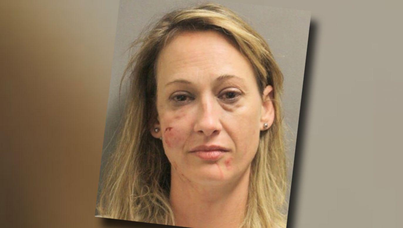 41-letnia Jessica Collins trafiła do aresztu (fot. Harris County Sheriff's Office)