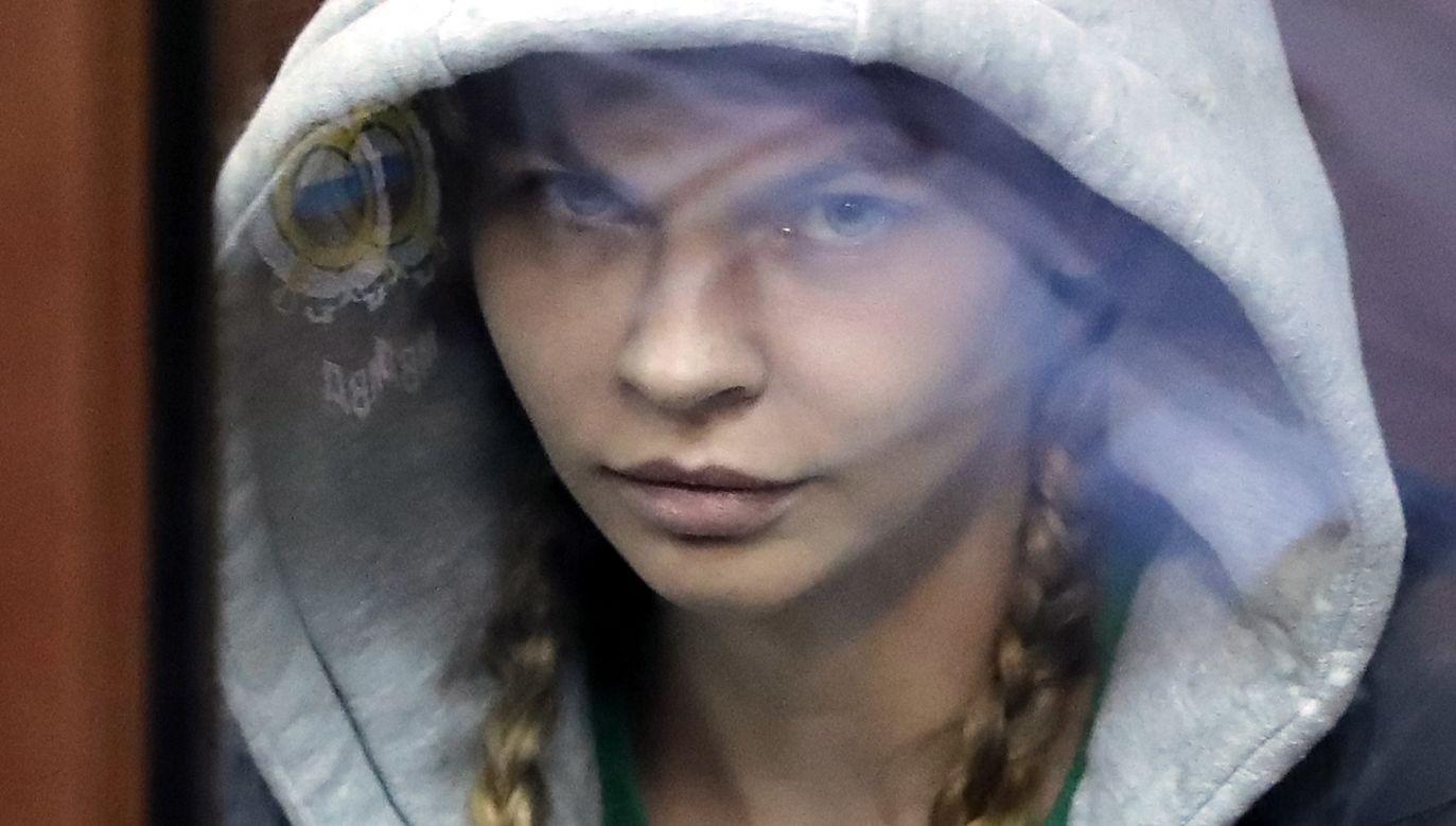 Nastia Rybka (fot.  PAP/EPA/MAXIM SHIPENKOV)