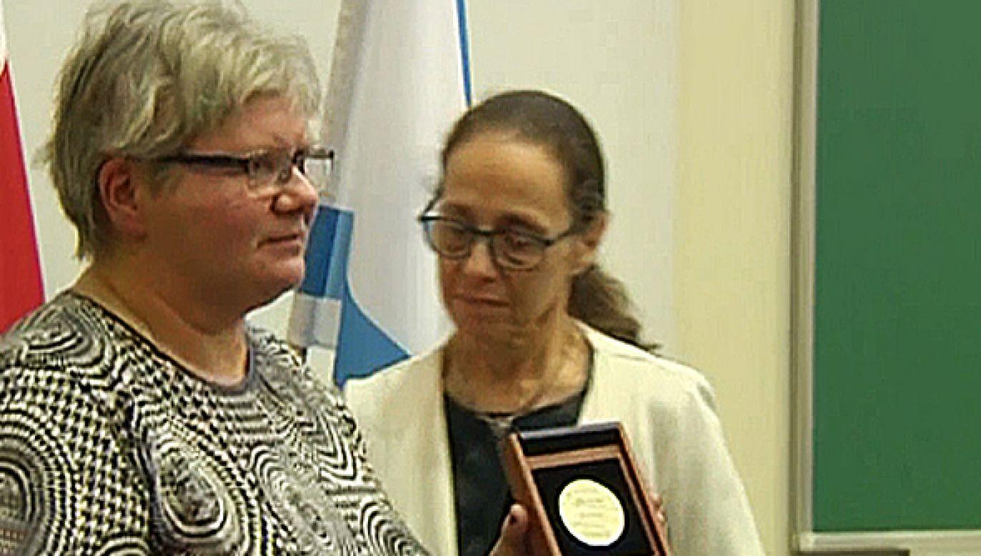 Tytuł Sprawiedliwy wśród Narodów Świata przyznawany  jest osobom niosącym pomoc Żydom w czasie II wojny światowej (fot. TVP Info)