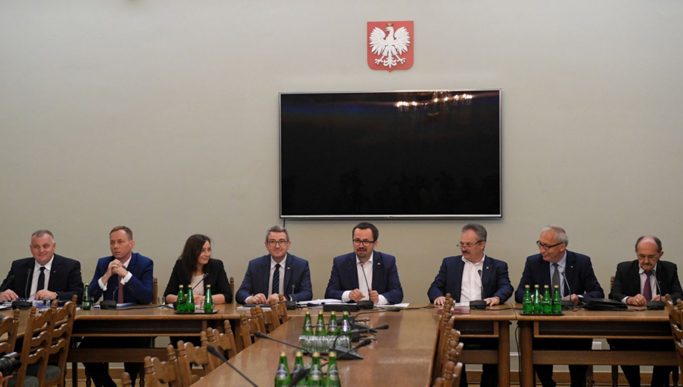 Komisja śledcza ds. VAT (fot.  TT/Sejm)