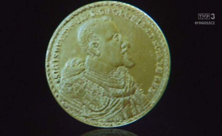 Złoty dukat z bydgoskiej mennicy