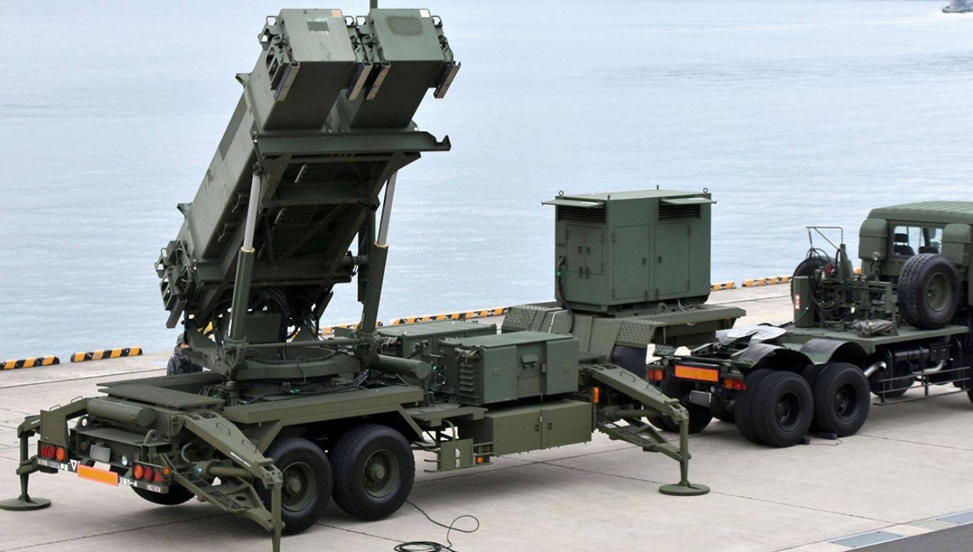 Wyrzutnia rakiet balistycznych Patriot (fot. arch. PAP/Newscom)