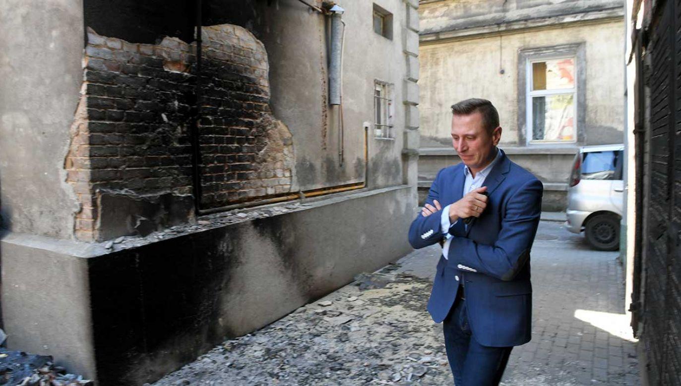 Do pożaru doszło pod koniec maja br. (fot. arch. PAP/Tytus Żmijewski)