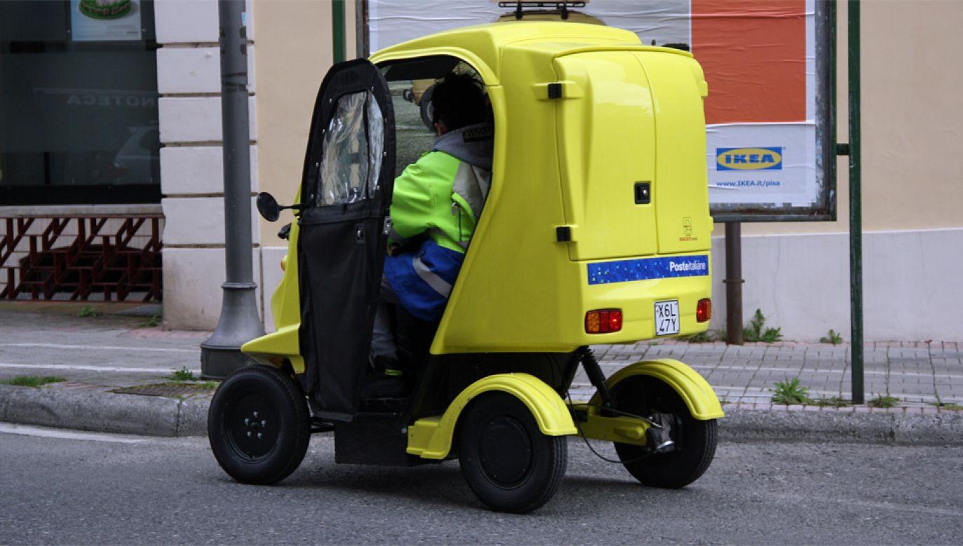Włoska poczta nie spieszyła się z dostarczeniem kartki (fot. Wiki/Piergiuliano Chesi)