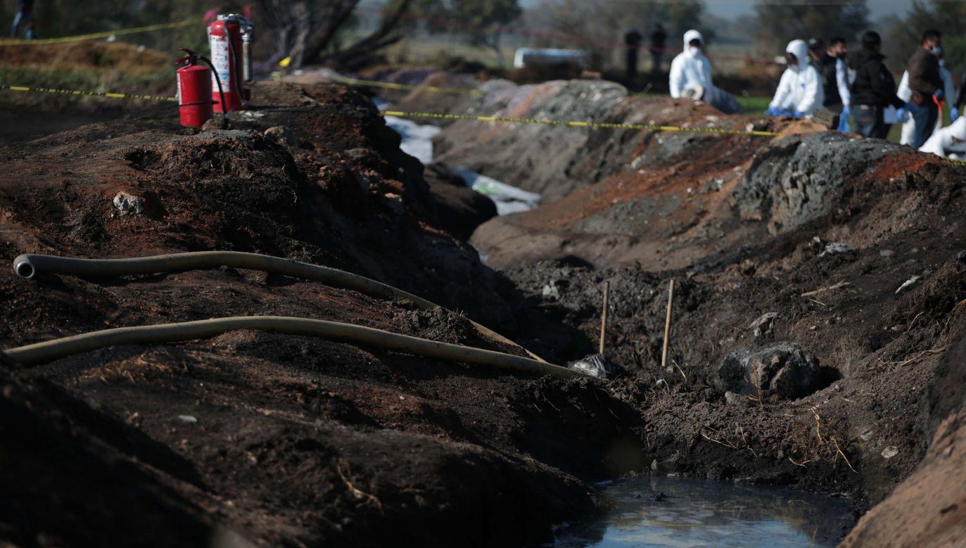 Kilkadziesiąt osób wciąż uznawanych jest za zaginione (fot.  PAP/EPA/Jorge Dan Lopez)