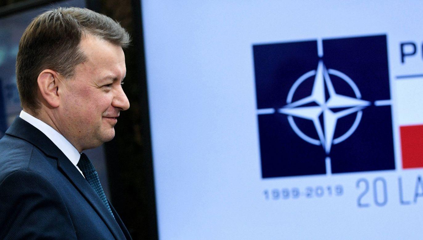 Minister obrony narodowej Mariusz Błaszczak (fot. arch/PAP/Darek Delmanowicz)