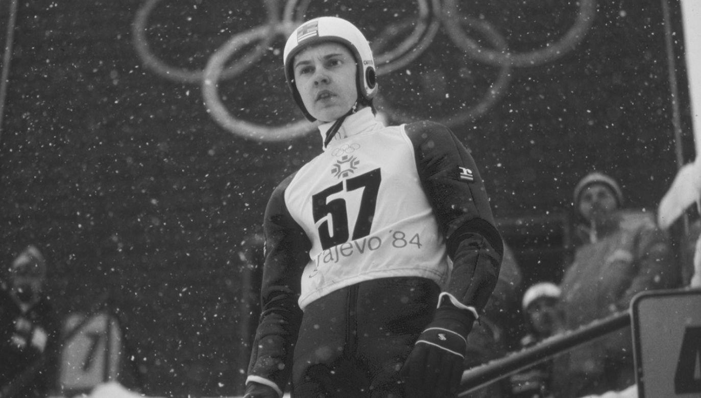 Matti Nykänen przez wielu uznawany jest za najlepszego skoczka narciarskiego w historii (fot. Heinz Kluetmeier /ABC via Getty Images)