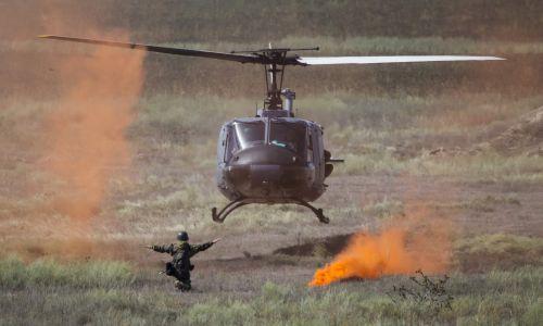 Ćwiczenia w Kazachstanie w roku 2013. Fot. REUTERS/Shamil Zhumatov