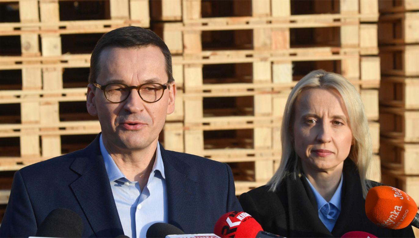 Premier Mateusz Morawiecki odbędzie rozmowy bilateralne z przywódcami V4 (fot. PAP/Radek Pietruszka)