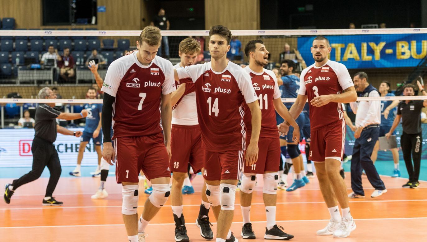Poland is still the leader of the group, although the advantage over Serbia dropped to two points. Photo: PAP/Maciej Kulczyński
