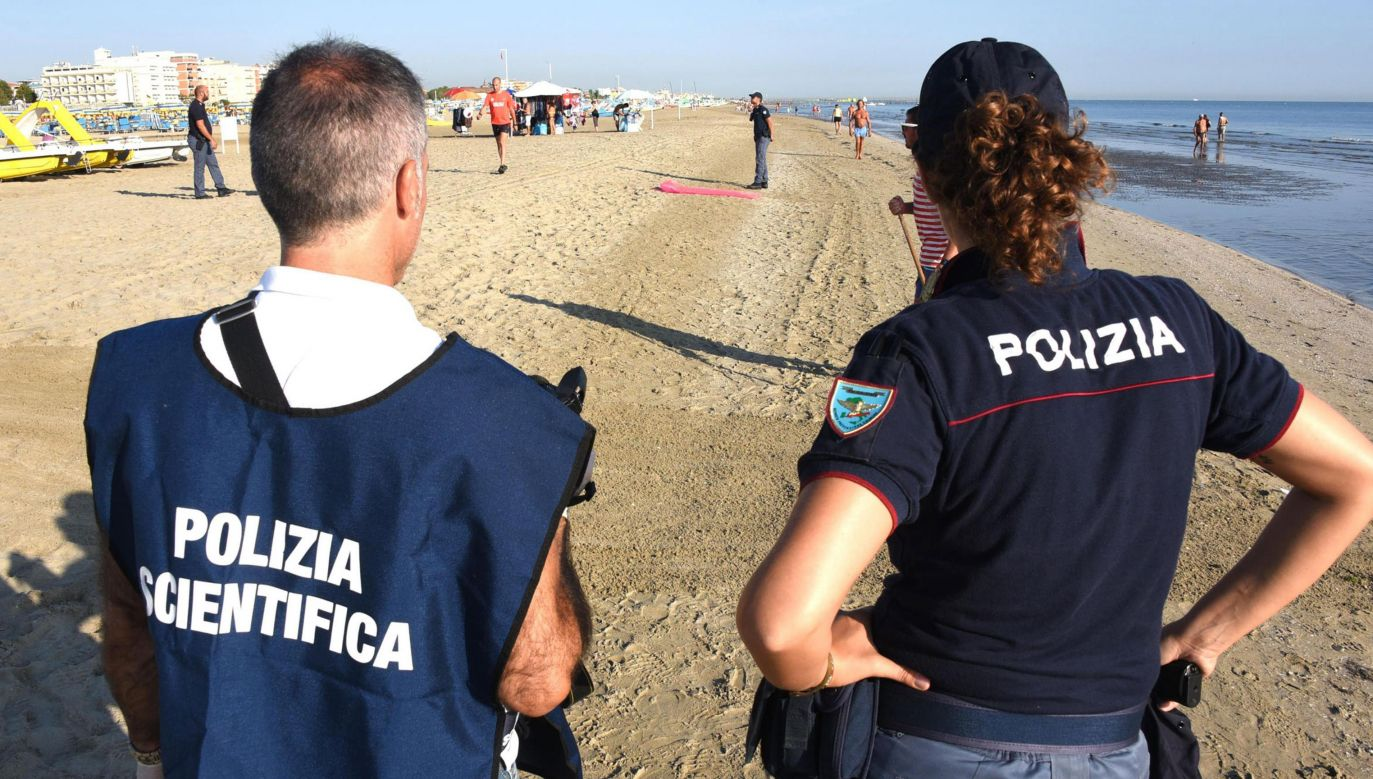 Do napaści na Polaków na plaży w Rimini doszło w sierpniu 2017 r. (fot. arch. PAP/MANUEL MIGLIORIN)