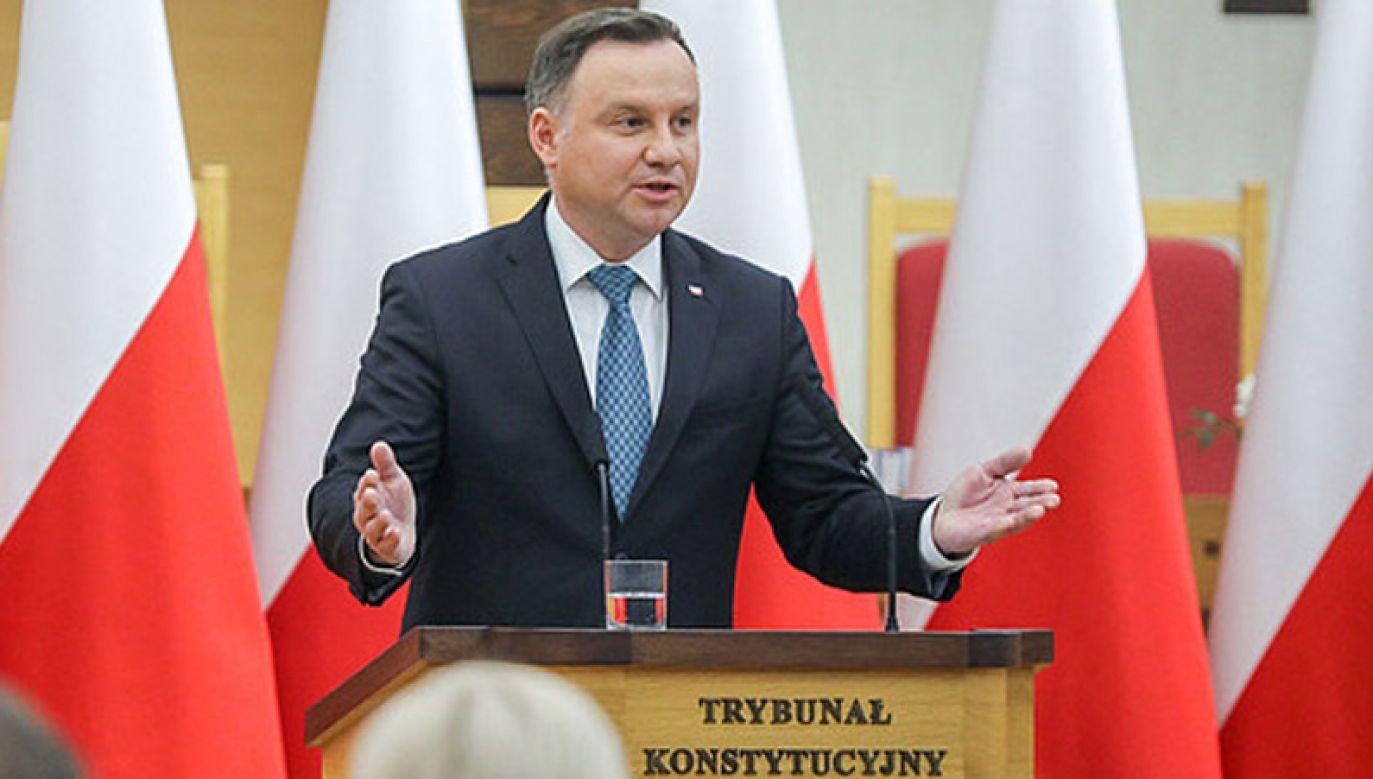 Uroczyste posiedzenie Zgromadzenia Ogólnego Sędziów TK organizowane jest co roku (fot. KPRP/Jakub Szymczuk)