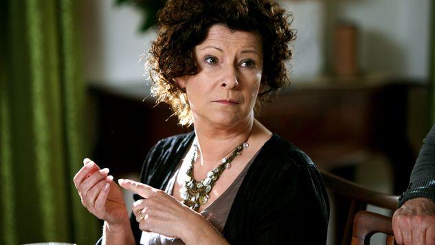Aktorka, odkąd stała sie rozpoznawalna, stara się nie różnić od wizerunku okładkowego (fot. arch.TVP/Elżbieta Kasperska)