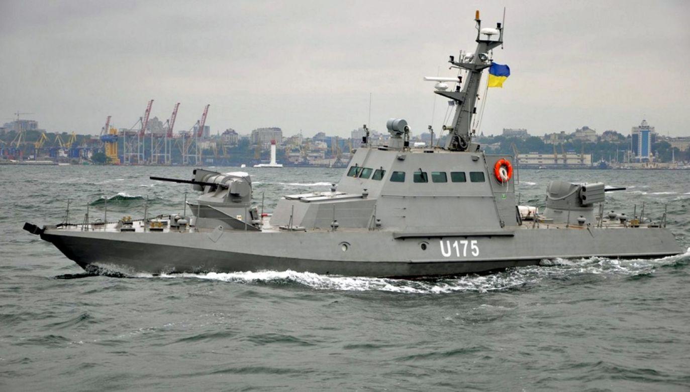 Jednym z przejętych przez Rosjan okrętów jest kanonierka BK-02 Berdyansk (fot. Wiki/Ministry of Defense of Ukraine)