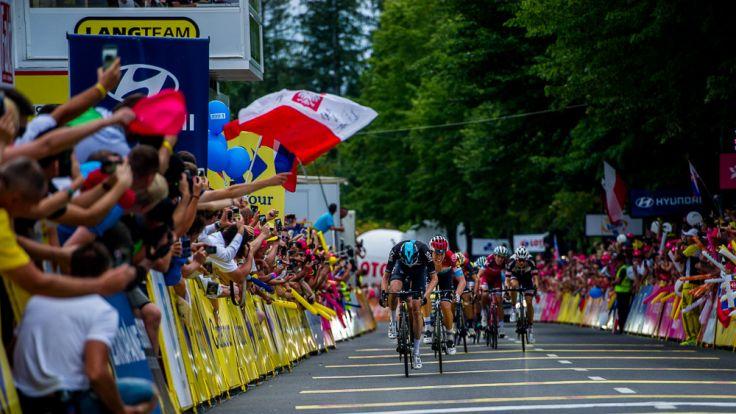 74. Tour de Pologne był wyjątkowy, bo na trasie walczyły prawdziwe gwiazdy światowego peletonu, fot. www.tourdepologne.pl/szymongruchalski
