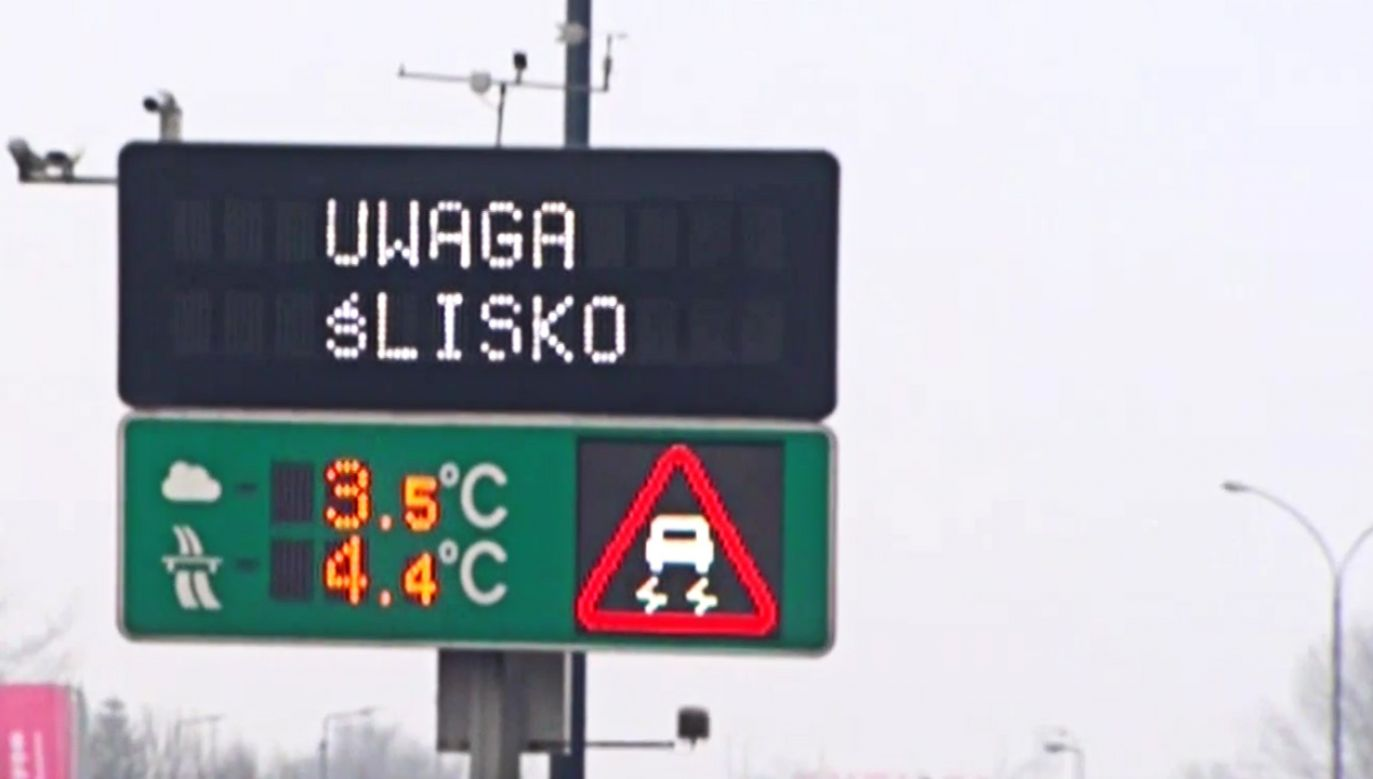System o nazwie INZNAK będzie pierwszym tego typu rozwiązaniem w Polsce i jednym z niewielu na świecie (fot. TVP info)