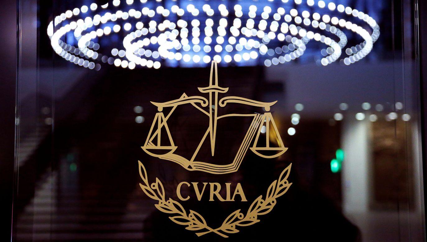 23 maja rzecznik generalny TSUE ma wydać opinię ws. pytań prejudycjalnych SN dot. m.in. zdolności KRS do stania na straży niezależności sądów w Polsce (fot. REUTERS/Francois Lenoir)