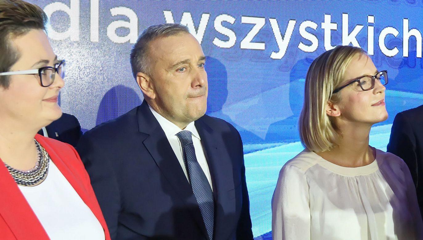 W TVP Info o wyborczych stratach PO (fot. arch. PAP/Leszek Szymański)