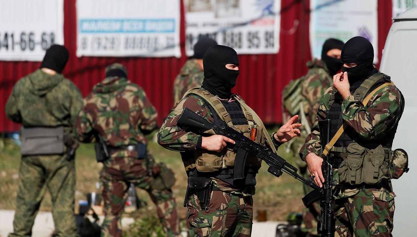 Według niektórych źródeł jest również jedna ofiara śmiertelna (fot. REUTERS/Maxim Shemetov, zdjęcie ilustracyjne)