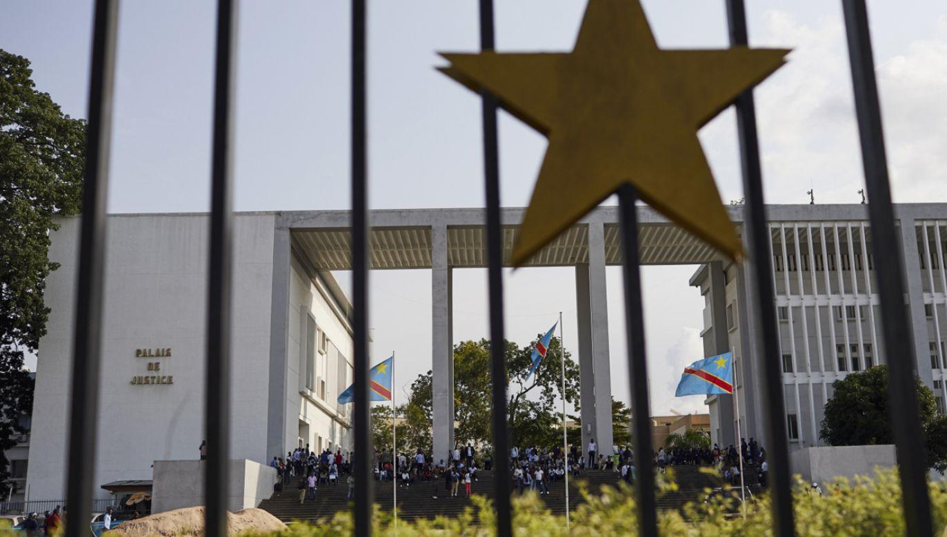 Sąd Konstytucyjny DRK uznał wybory za niesfałszowane (fot. PAP/EPA/HUGH KINSELLA CUNNINGHAM)