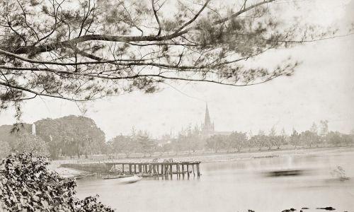 Singapur około roku 1885. Fot. Imagno/Getty Images