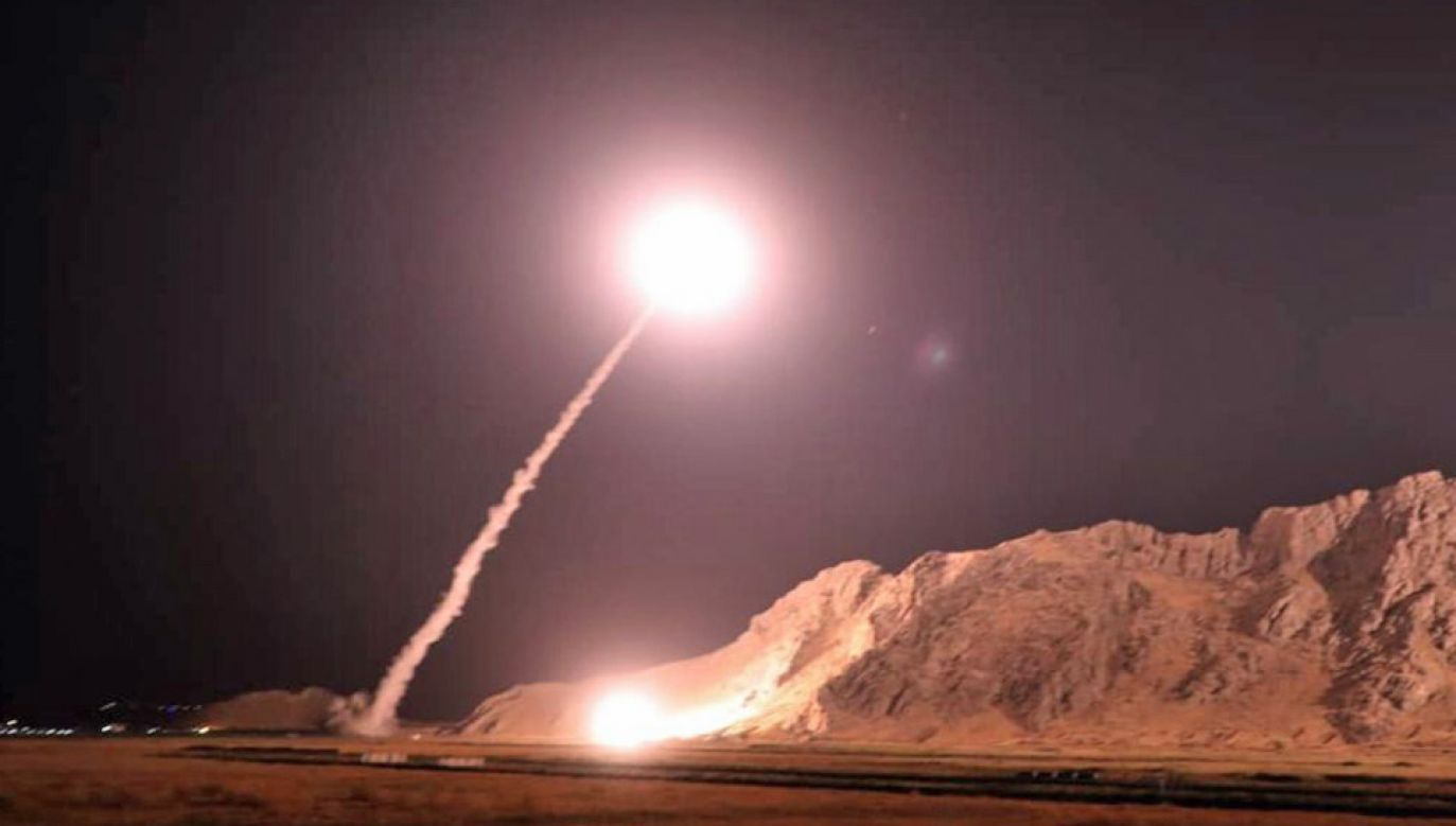 Iran intensywnie się broni (fot. SepahNews / Handout/Anadolu Agency/Getty Images)
