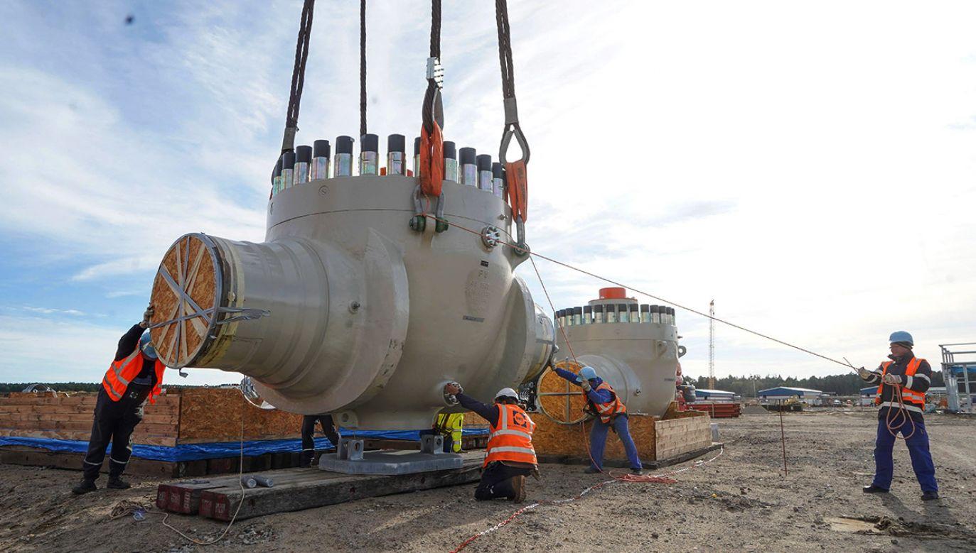 Nowelizacja dyrektywy gazowej, dotycząca Nord Stream 2 jest uważana za sukces polskiej dyplomacji (fot. arch.PAP/DPA)