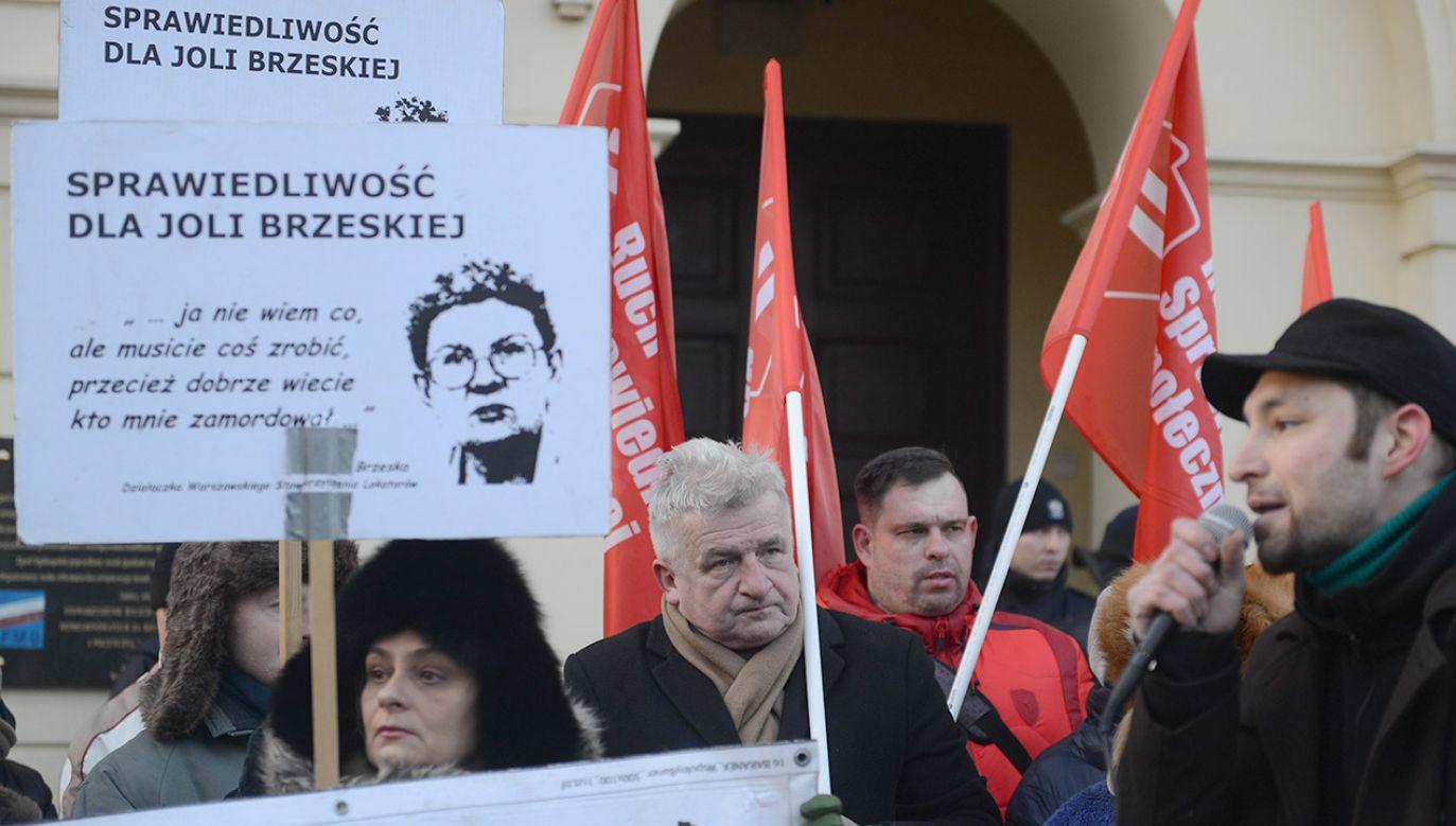 Ofiarą okrucieństwa reprywatyzacji była m.in. Jolanta Brzeska (fot. arch. PAP/Jakub Kamiński)