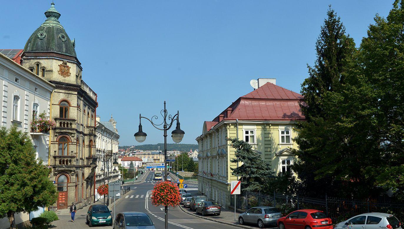 Centrum Przemyśla. Po lewej Ukraiński Dom Narodowy (fot. arch.PAP/Darek Delmanowicz)