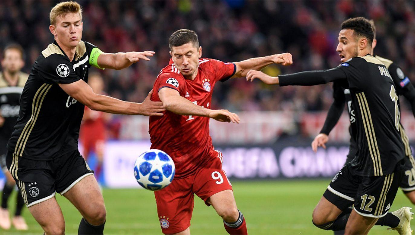 Robert Lewandowski imponuje w Bayernie, ale na mundialu nie błyszczał (fot. PAP/EPA/LUKAS BARTH-TUTTAS)