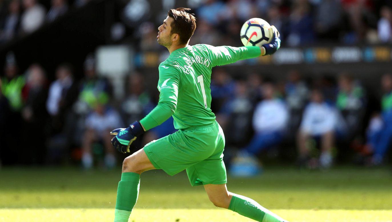 Łukasz Fabiański in his last game for Swansea, May 13, 2018. Photo: PAP/PA/David Davies