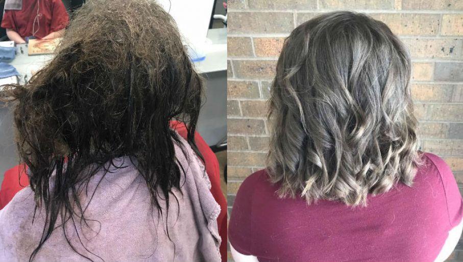 Fryzjerki Uratowały Włosy Dziewczyny W Depresji Tvpinfo