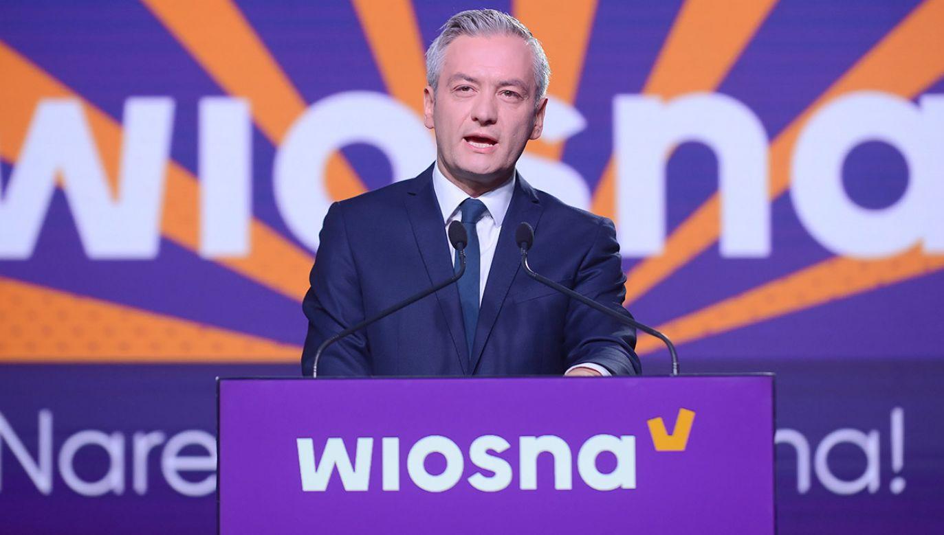 Władze partii nie odniosły się do sprawy (fot. PAP/Jakub Kamiński)