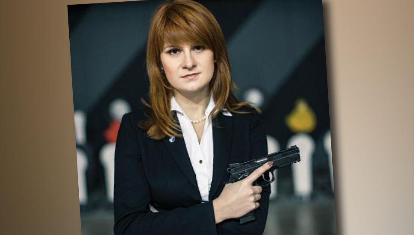 Maria Butina była aktywistką NRA (fot. TT)