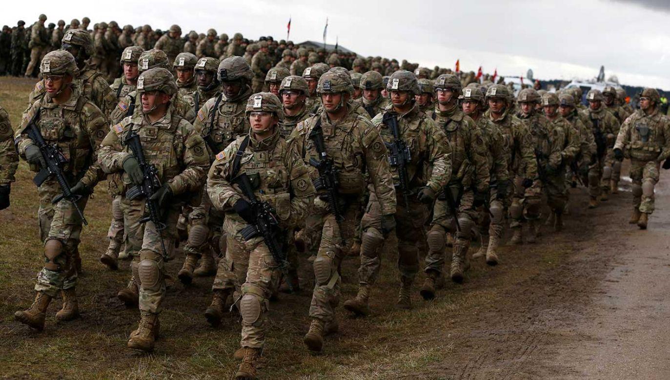Stany Zjednoczone planują zwiększyć swoją obecność wojskową w Polsce (fot. REUTERS/Kacper Pempel)