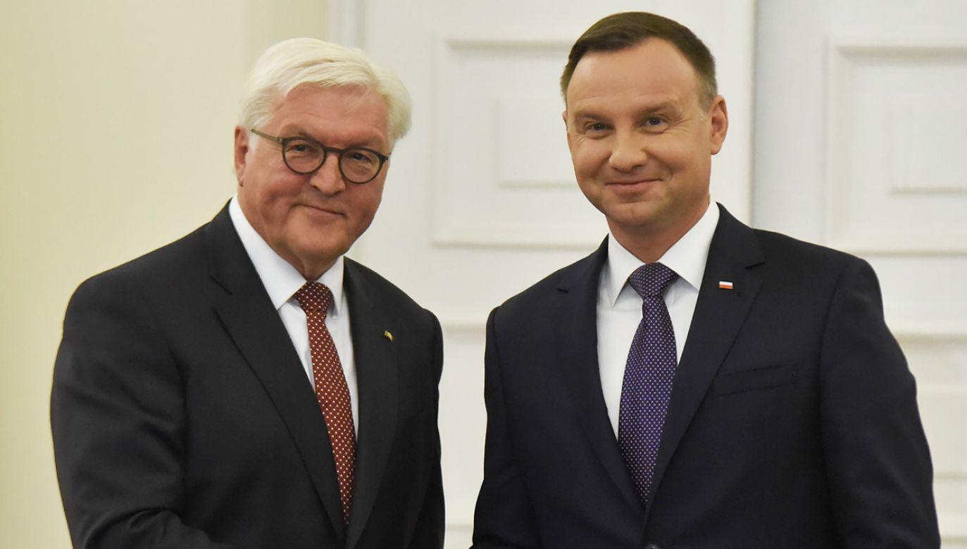 Andrzej Duda spotka się m.in. z prezydentem Frankiem-Walterem Steinmeierem (fot. Omar Marques/Anadolu Agency/Getty Images)