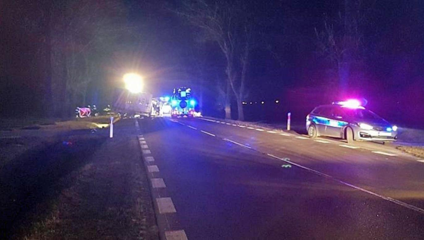 Ofiarami są kierowcy aut dostawczych (fot. KPP Wysokie Mazowieckie)