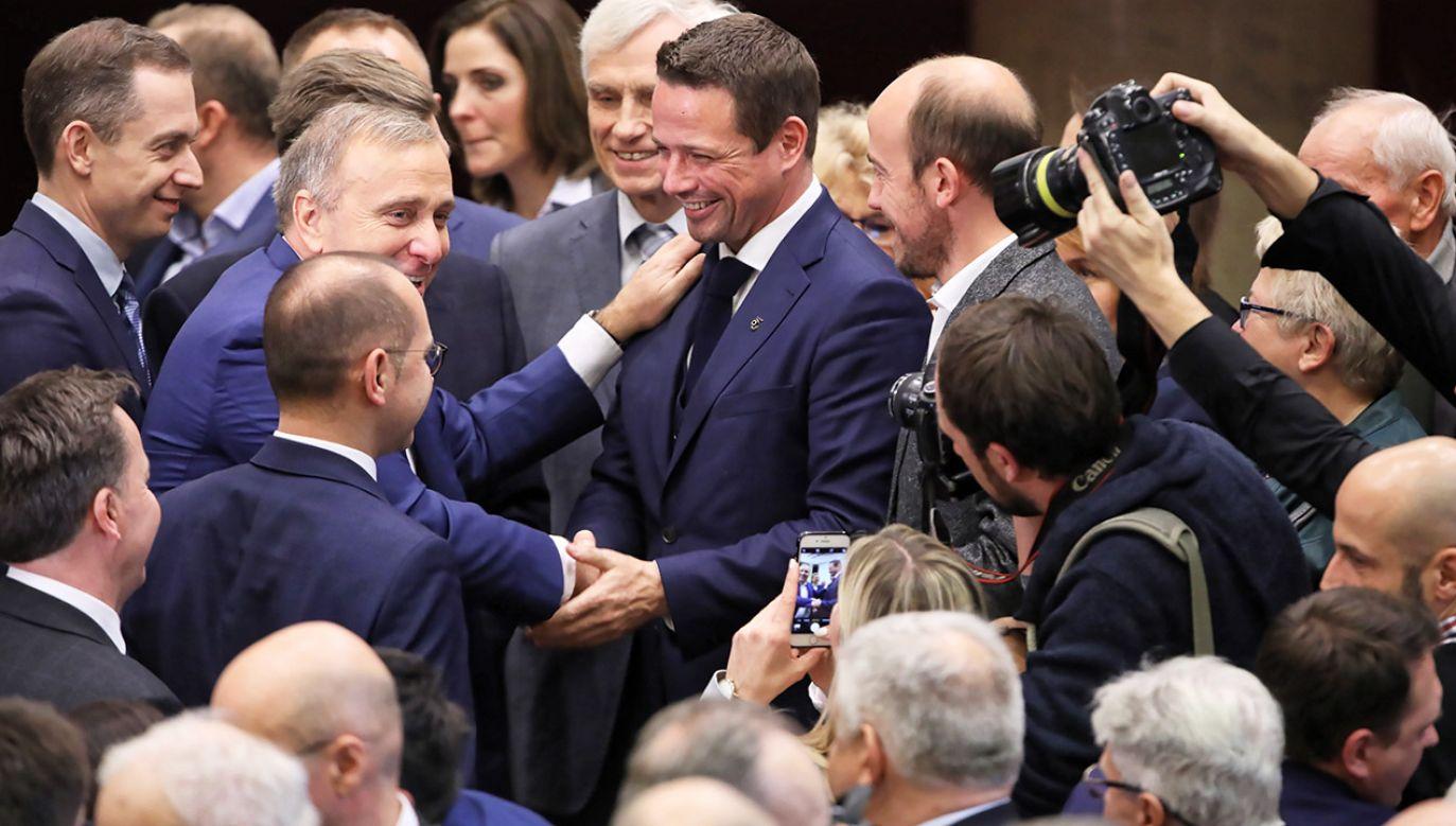 Rafał Trzaskowski został zaprzysiężony na pierwszej sesji nowo wybranej Rady Warszawy (fot. PAP/Tomasz Gzell)