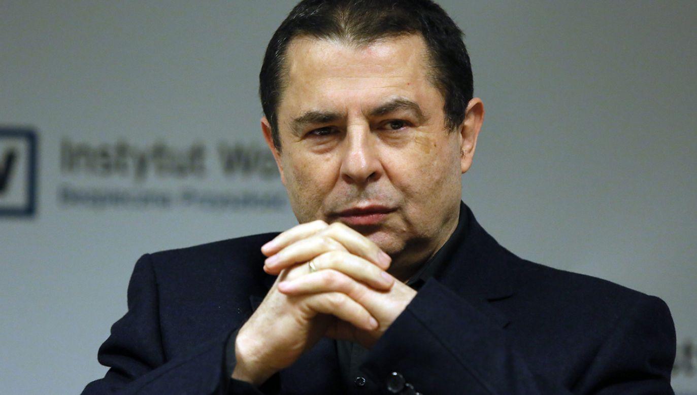 Bronisław Wildstein (fot. arch. PAP/Tomasz Gzell)