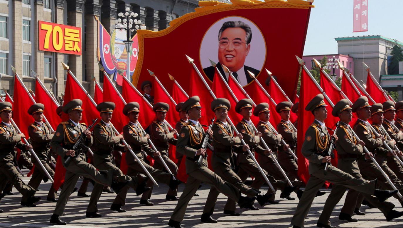 Wiceminister spraw zagranicznych Korei Północnej zagroziła, że Pjongjang ponownie podejmie próby nuklearne i rakietowe (fot. Alexander Demianchuk\TASS via Getty Images)