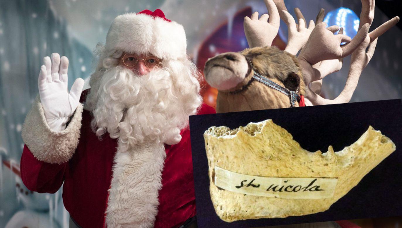 Kości przypisywane św. Mikołajowi pochodzą z IV w. naszej ery (fot. PAP/EPA/CAROLINE BLUMBERG/Oxford University)