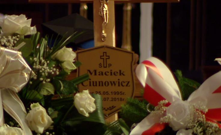 Maciej Ciunowicz przez kilka lat służył w dobromiejskiej Ochotniczej Straży Pożarnej