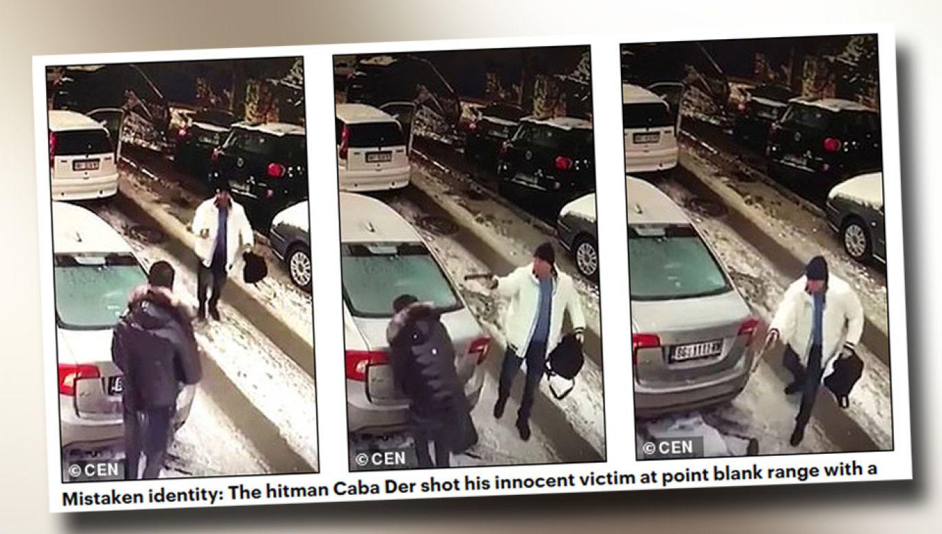 Čaba Der jest poszukiwany przez policję serbską, holenderską i węgierską (fot. Dailymail.co.uk)