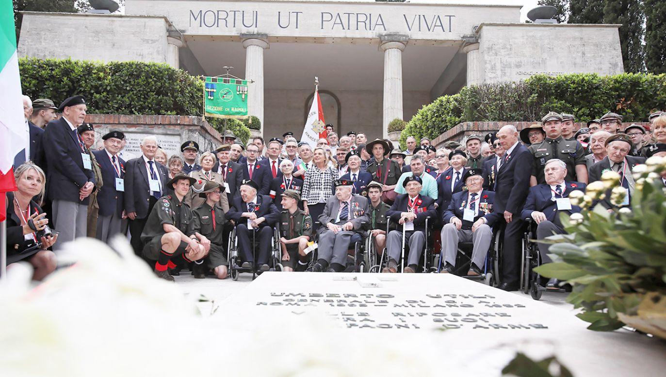 Związek Polaków we Włoszech przy okazji obchodów rocznicowych przypomniał o bolesnym konflikcie (fot. PAP/Leszek Szymański)