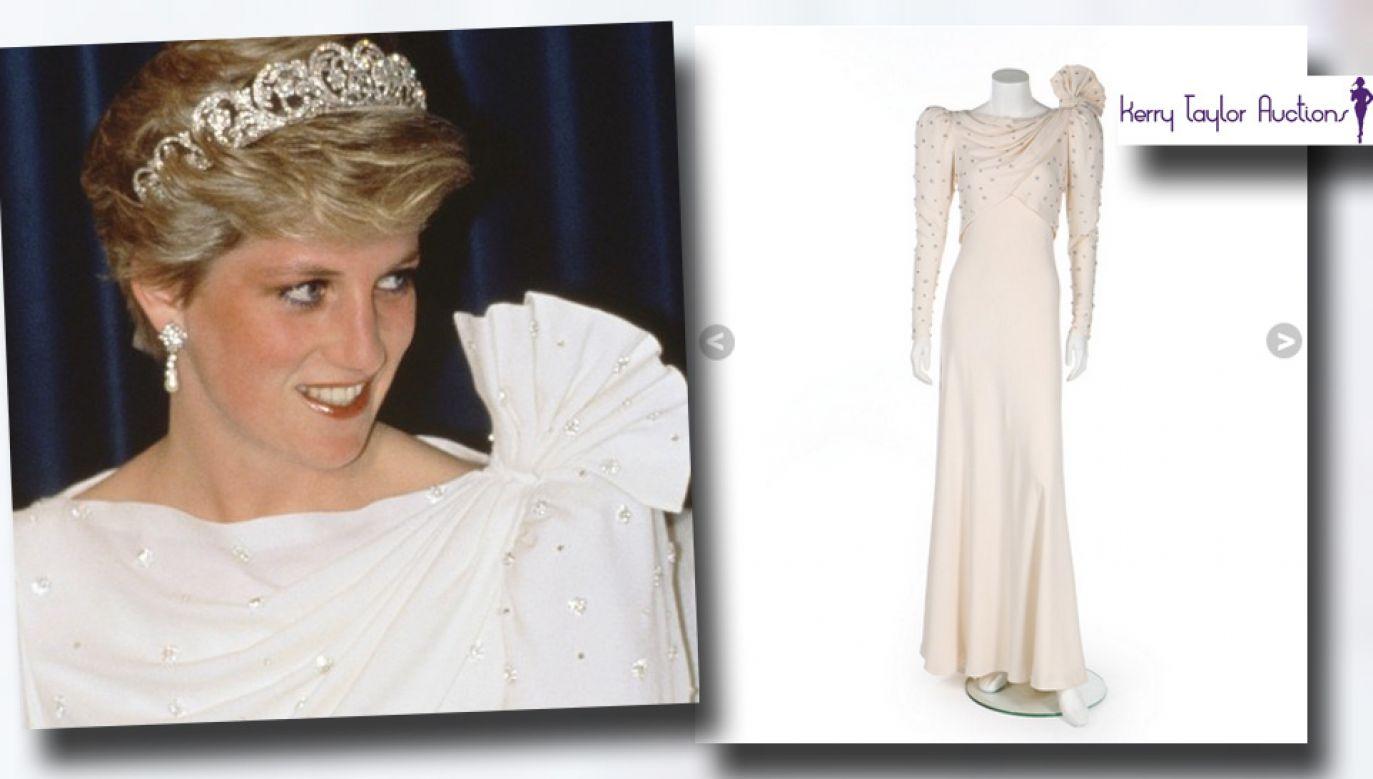 Suknia przez niemal ćwierć wieku była schowana w pudle (fot. Kerrytaylorauctions.com)