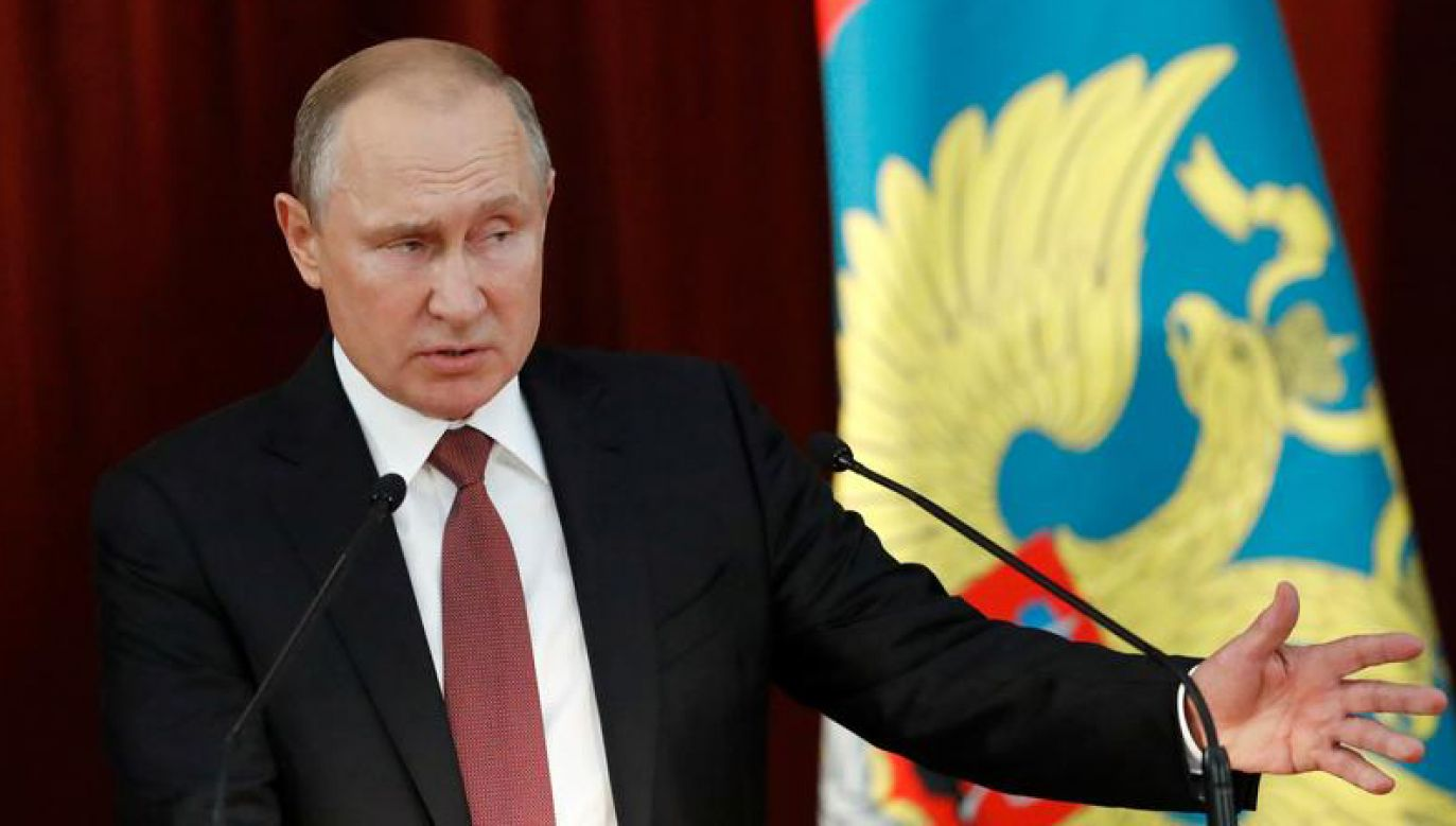 Służby prasowe Kremla ocenzurowały Władimira Putina (fot. REUTERS/Sergei Karpukhin)