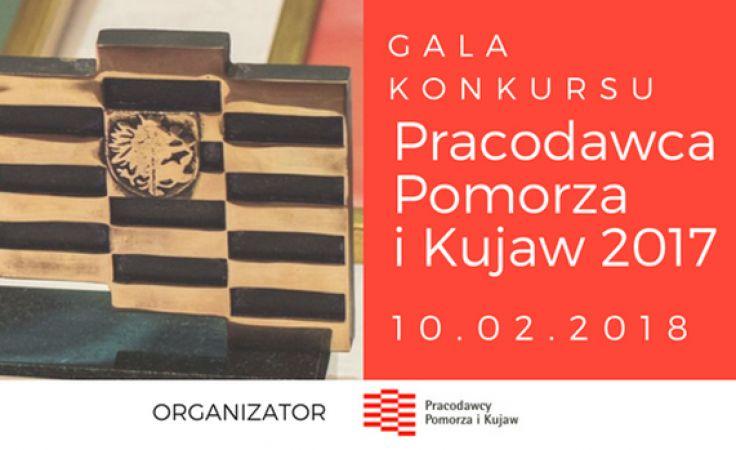 Gala konkursu Pracodawca Pomorza i Kujaw 2017