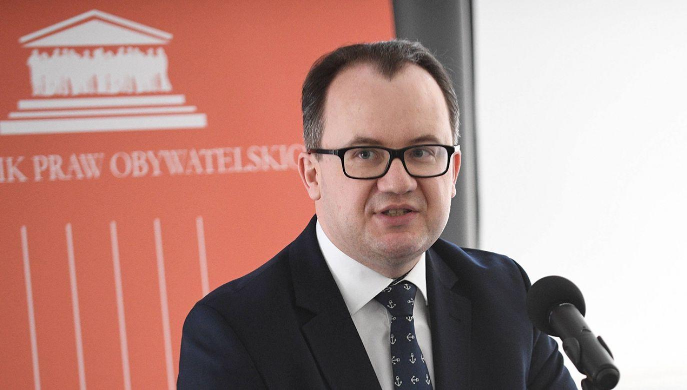 Rzecznik Praw Obywatelskich Adam Bodnar (fot. PAP/Jacek Turczyk)
